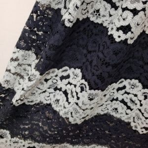 Who What Wear Skirts - Who What Wear Lace Midi Skirt #SK110